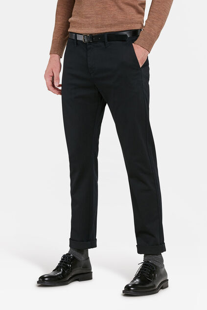 SLIM FIT PANTALON HOMME Noir