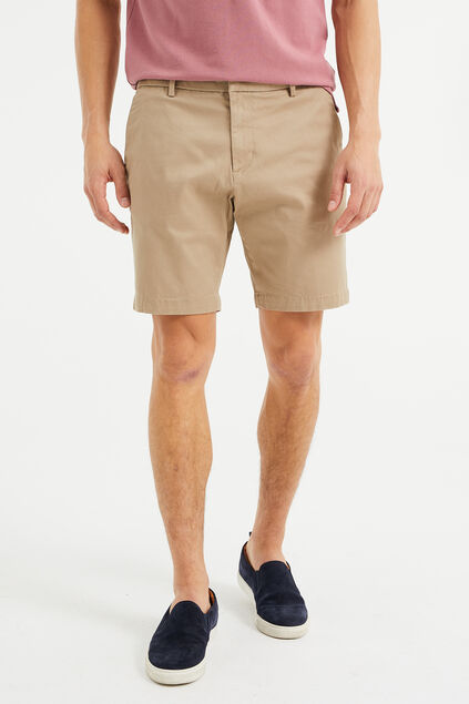 Short chino relaxed fit homme Beige