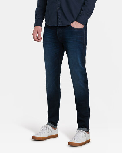 JEANS SKINNY TAPPERED STRETCH HOMME Bleu