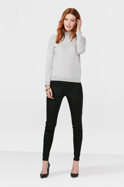 JEGGING MID RISE SUPER SKINNY HIGH STRETCH FEMME Noir