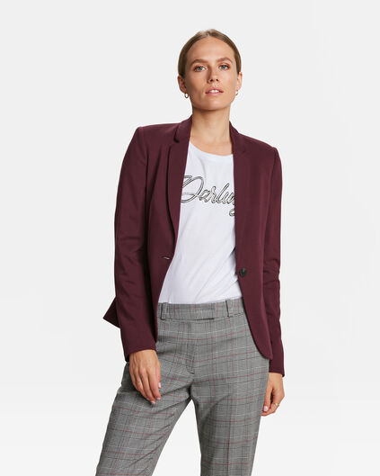 DAMEN-SLIM-FIT-BLAZER Lila