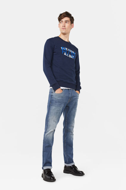 Jeans regular fit stretch comfort homme Bleu