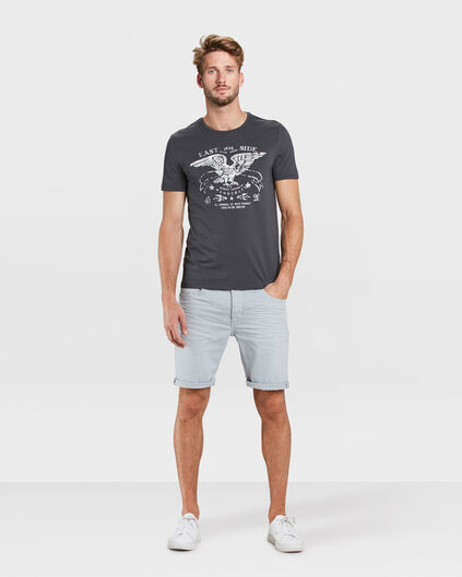 SHORT TAPERED REGULAR FIT HOMME Bleu eclair