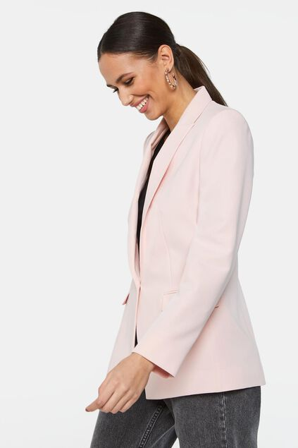 Blazer regular fit femme Rose clair