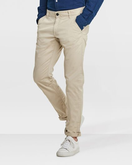 CHINO SLIM FIT CASUAL HOMME Caramel