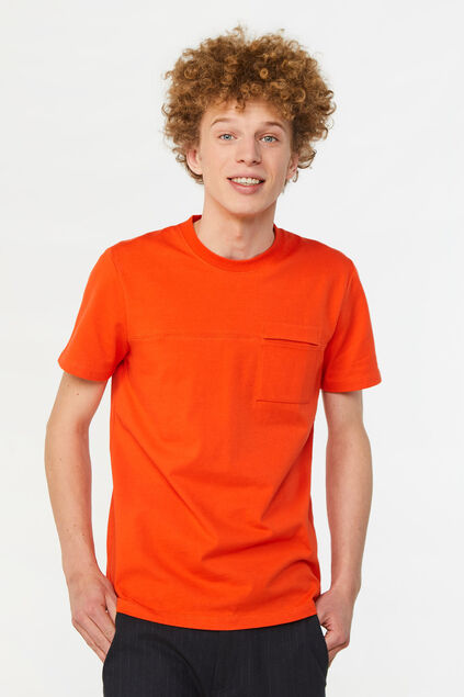 T-shirt homme Orange