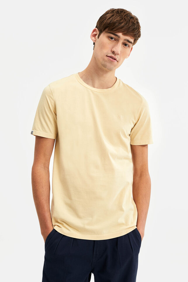 T-shirt Blue Ridge homme Jaune clair