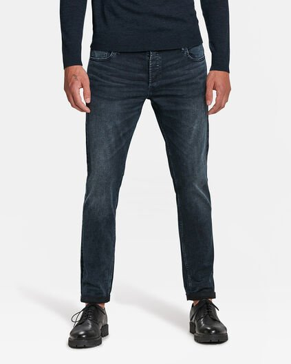 JEANS SLIM TAPERED SUPER STRETCH HOMME Bleu gris