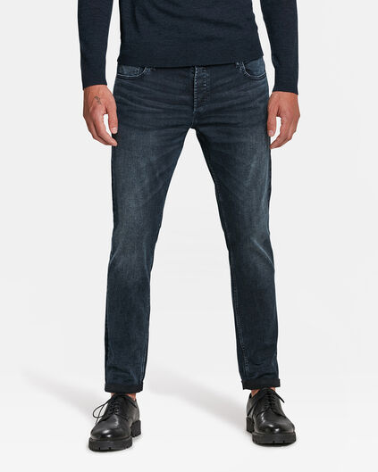 HERREN-SLIM-FIT-JEANS AUS SUPER STRETCH Graublau