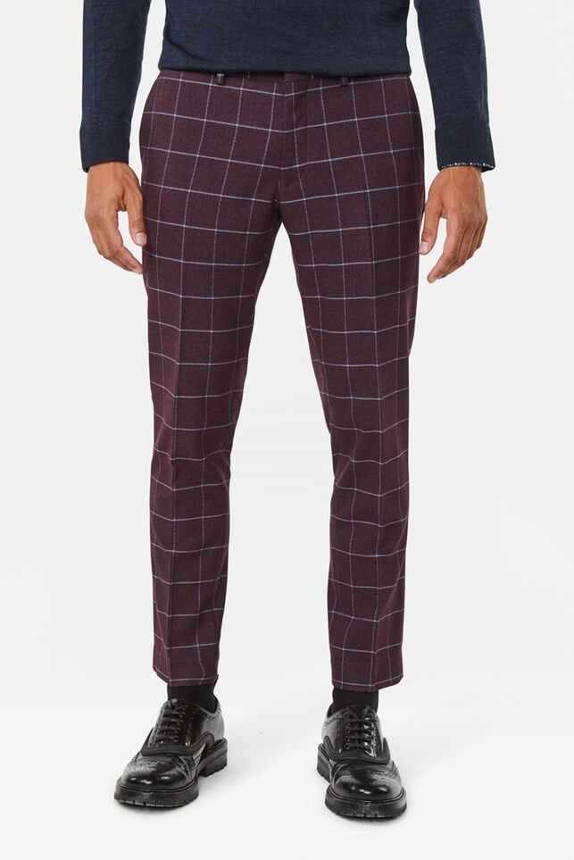Pantalon skinny fit Winslow homme Bordeaux