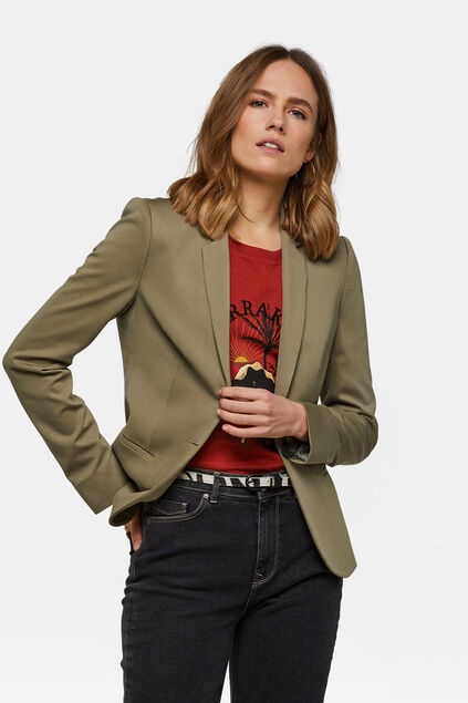 DAMEN-SLIM-FIT-BLAZER Hellgrün