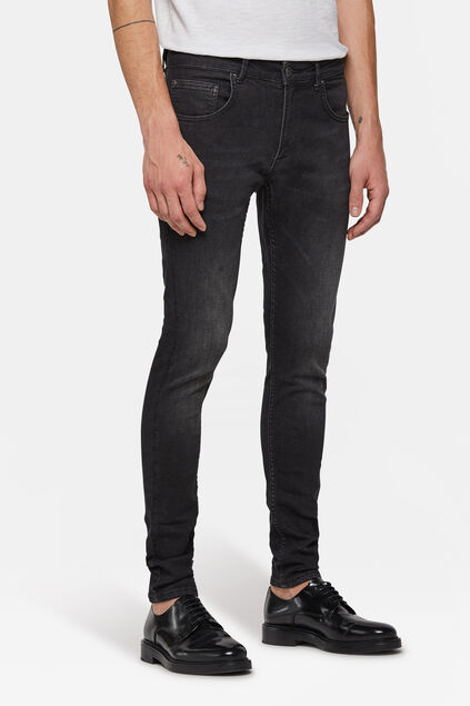 Jeans super skinny tapered homme Noir