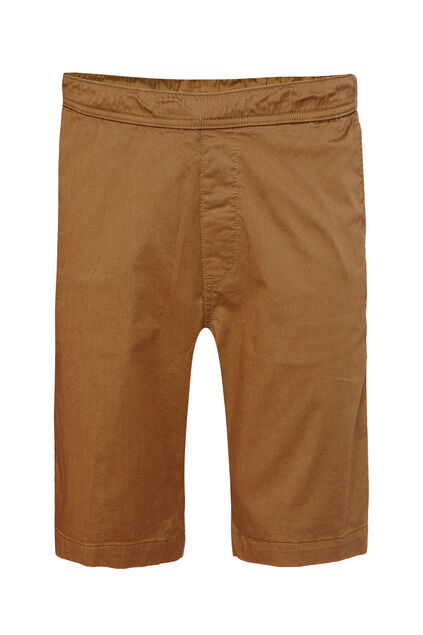 Herren-Regular-Fit-Chinoshorts Karamell