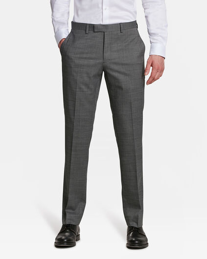 PANTALON REGULAR FIT ELGIN HOMME Gris clair mêlé