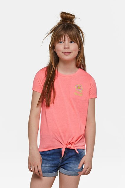 T-shirt fille Rose