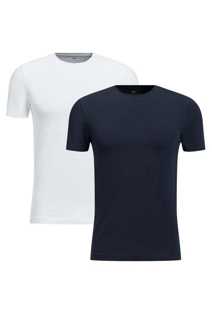 T-shirt homme basic pack de 2