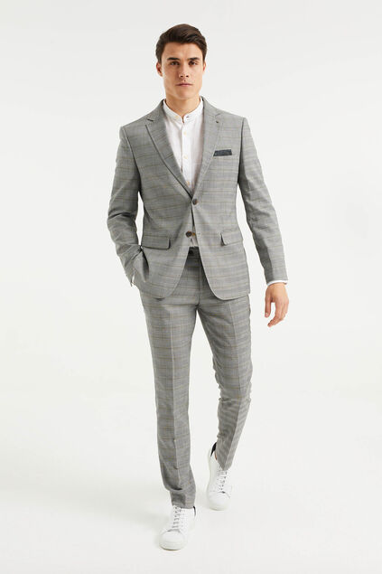 Costume slim fit à carreaux Illan homme