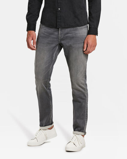 REGULAR STRAIGHT JOG DENIM HOMME Gris clair