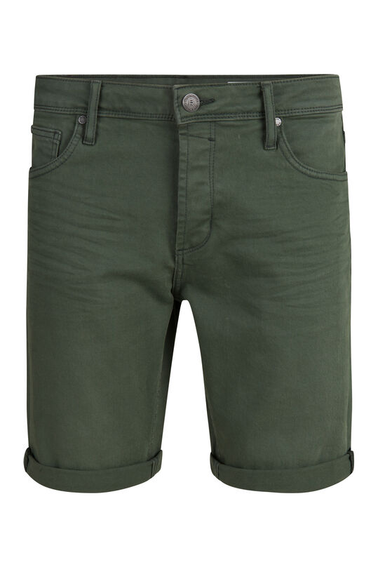 Short denim regular fit homme Vert armee