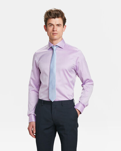"REGULAR-FIT-HERRENHEMD AUS ""FINEST COTTON"" Lavendel"