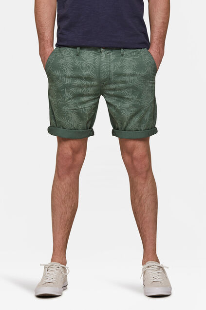 Short regular fit homme Vert armee