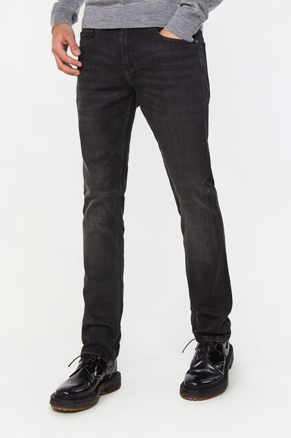 Jeans de jog denim regular fit homme Noir