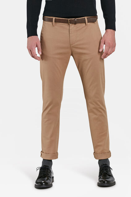 Chino skinny fit homme Beige
