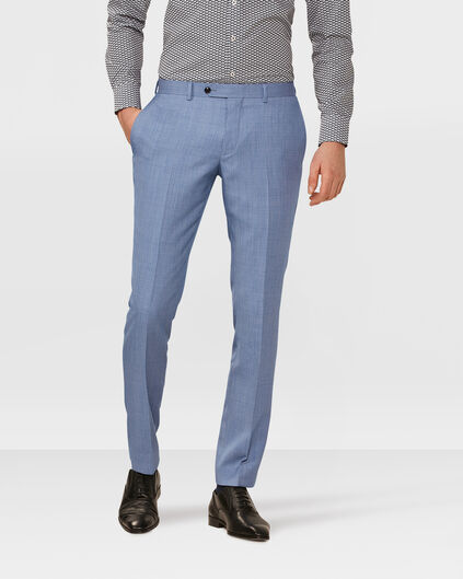 HERREN-SLIM-FIT-ANZUGHOSE WASHINGTON Blau