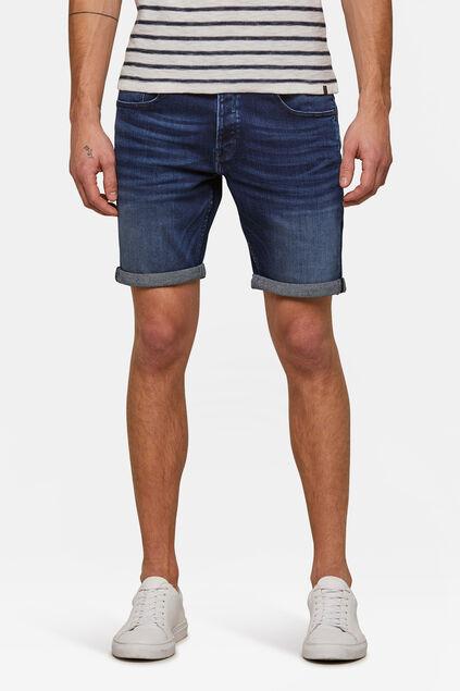 Short jog denim regular fit homme Bleu foncé