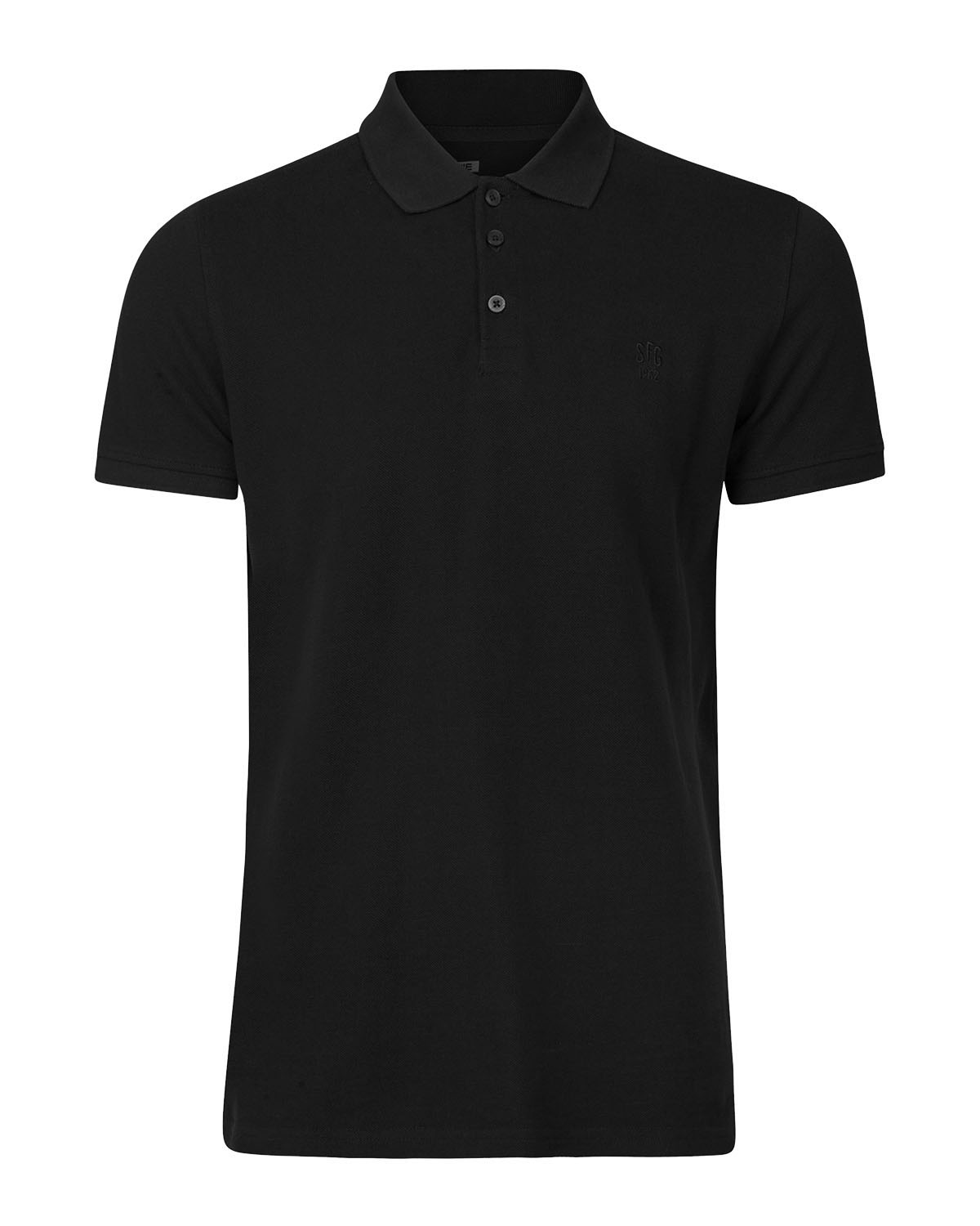 Herren Poloshirt Aus Bio Baumwolle 79194914 We Fashion Polo Shirt Schwarz