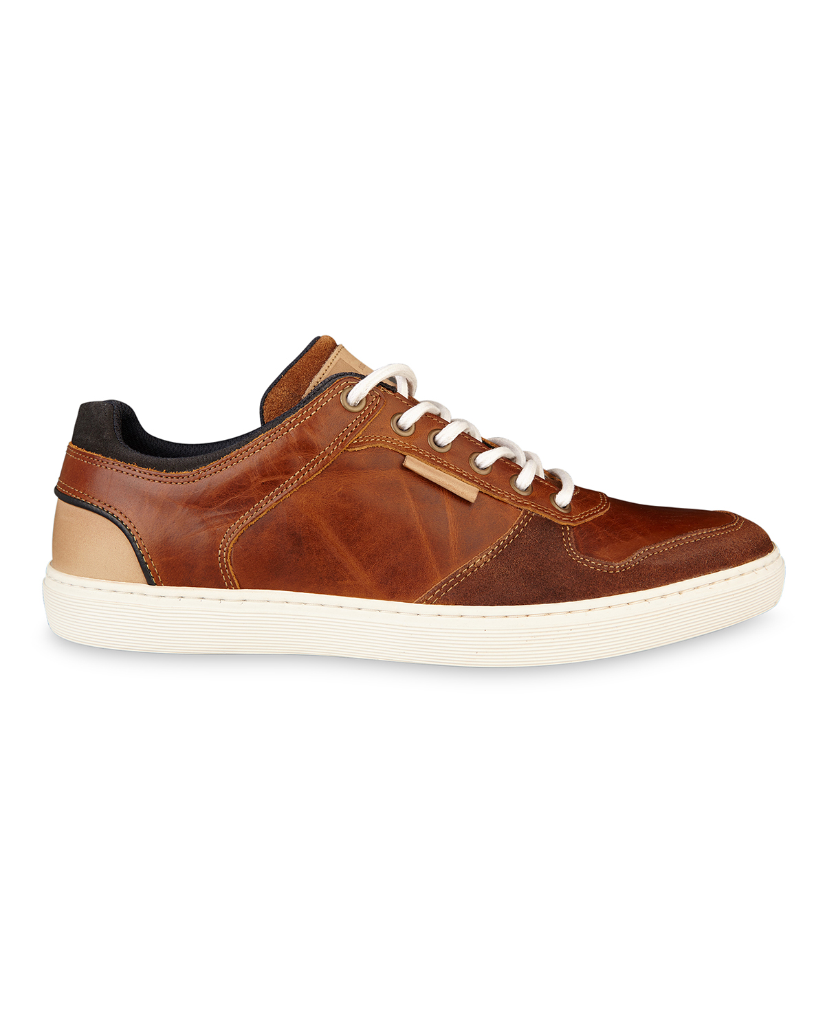 HERREN SNEAKERS AUS ECHTEM LEDER | 79822213 WE Fashion