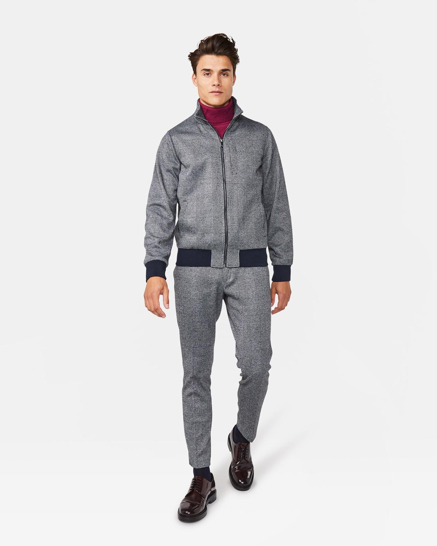 check out 4e660 deb63 Herren-Bomberjacke mit Karomuster | 94700497_0040 - WE Fashion