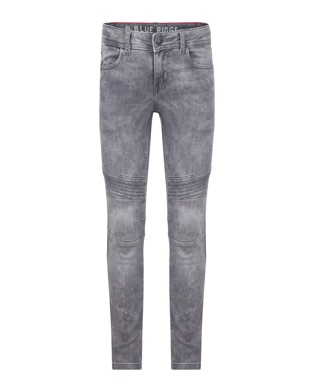 m dchen mid rise super skinny grey denim biker jeans. Black Bedroom Furniture Sets. Home Design Ideas