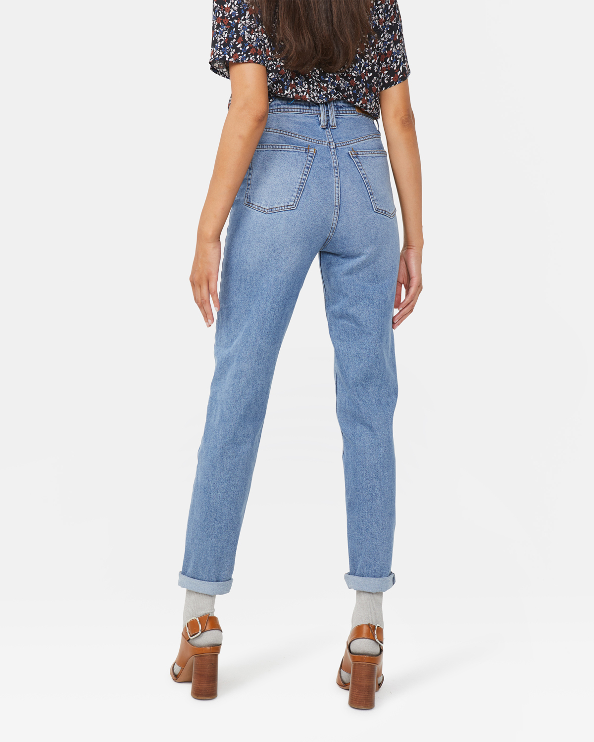 Damen Skinny Fit Jeans mit hoher Taille   94891454_0785 WE Fashion
